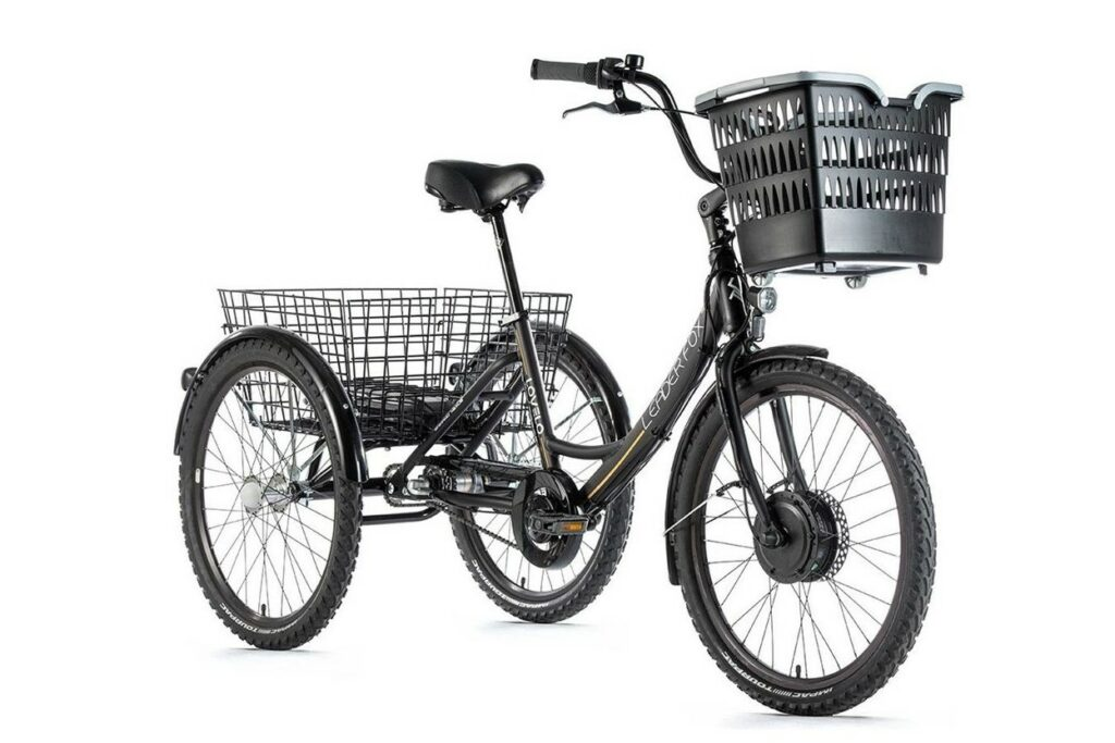 Rower trzykolowy elektryczny