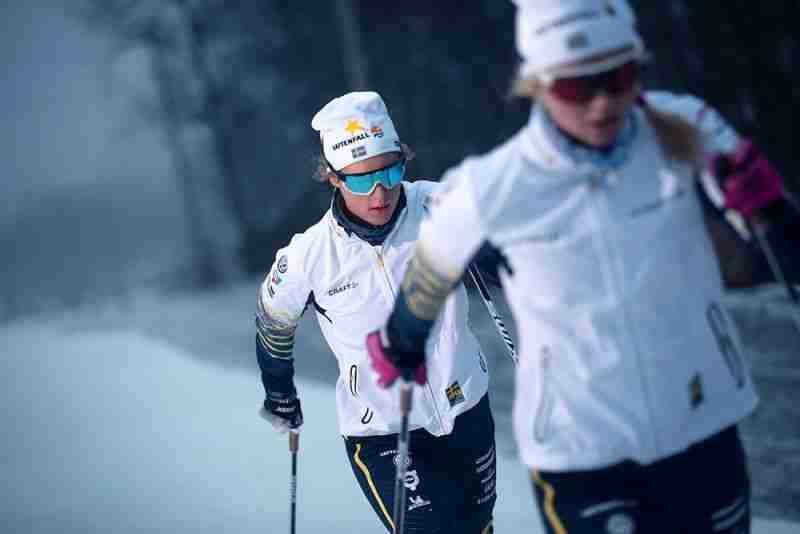 Okulary na narty biegowe