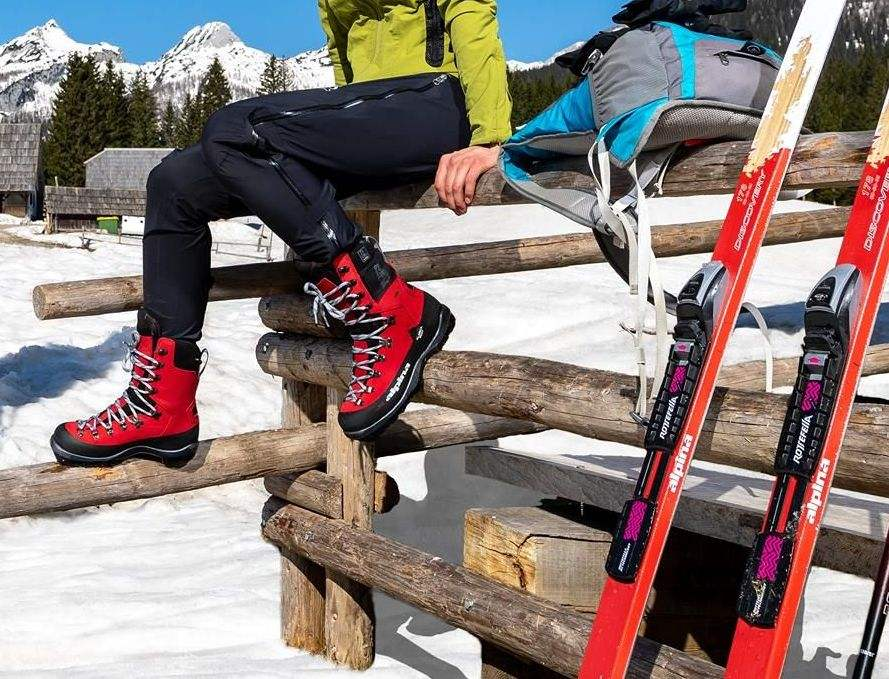 Buty narciarskie backcountry Alpina Alaska