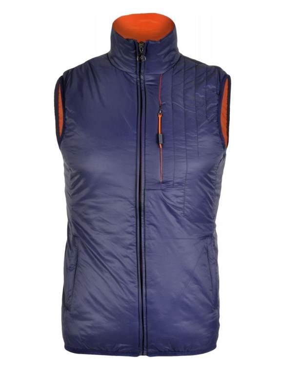 Jeśli spodziewasz się naprawdę mroźnej pogody, cieńszą kurtkę możesz uzupełnić z zewnątrz izolującą kamizelką ocieplona Primaloftem (sztuczny puch).