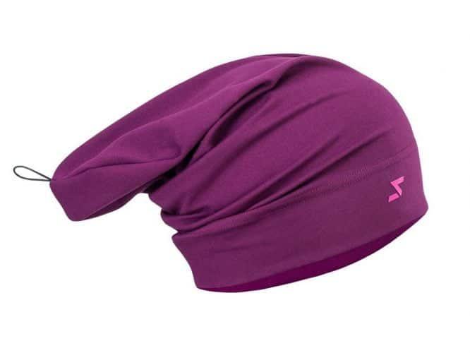 Czapka na narty biegowe i inne okazje – Silvini Verde oddychająca, kolor fiolet