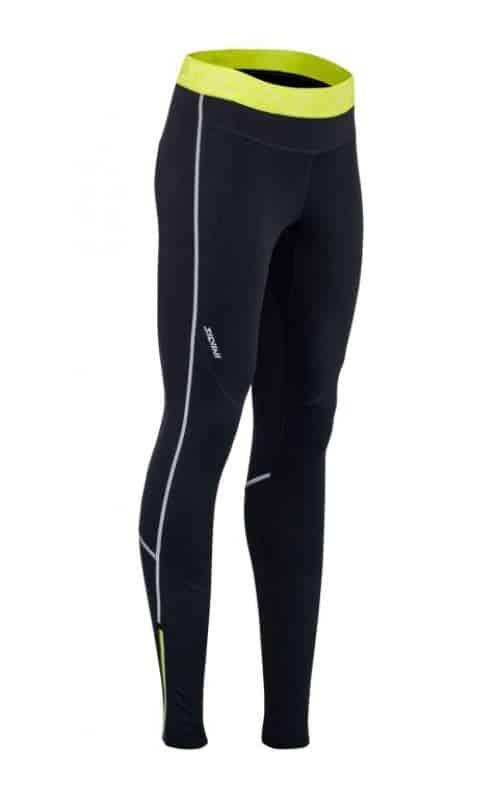 Elastyczne damskie spodnie na narty biegowe i do biegania Silvini Movenza WP1742 ciepłe
