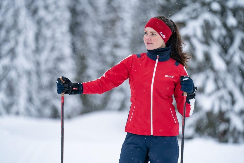Kurtka na narty biegowe damska Swix Infinity, średnio ciepła, membrana