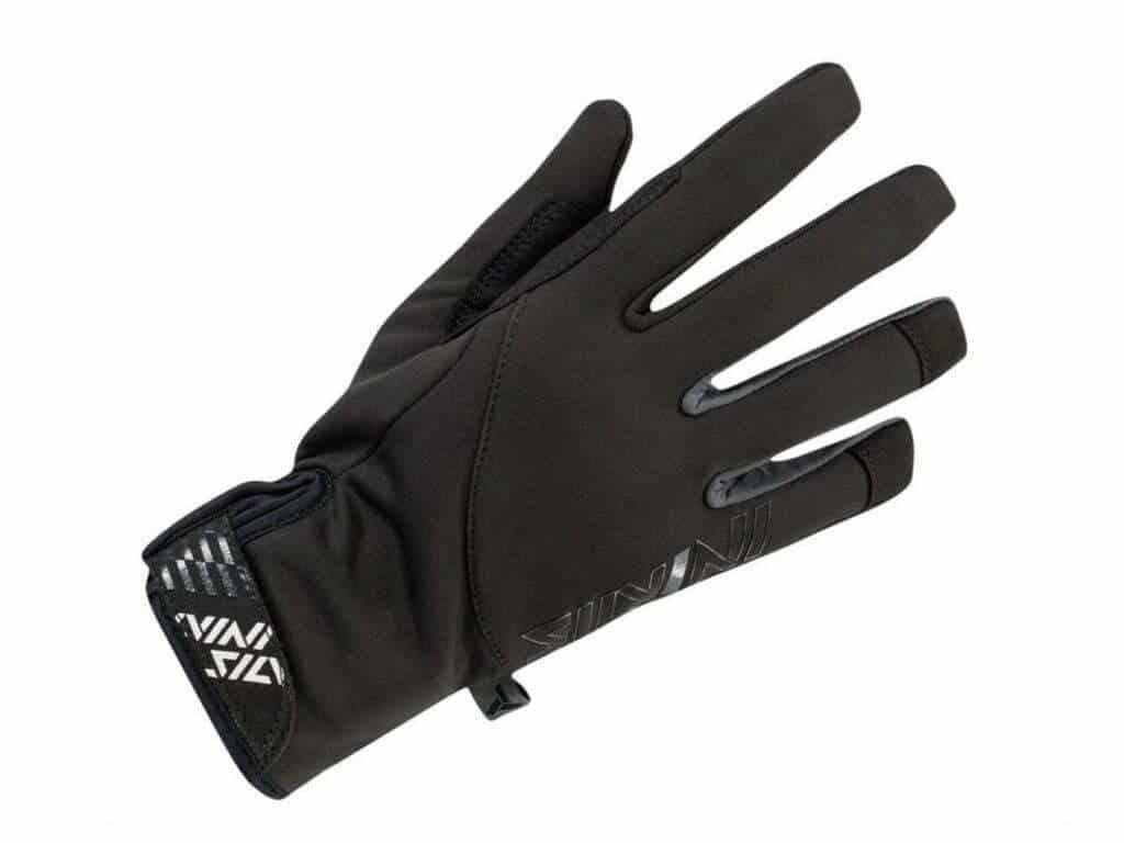 Męskie rękawiczki na narty biegowe, średnio ciepłe Silvini Ortles MA1539 czarno-szare