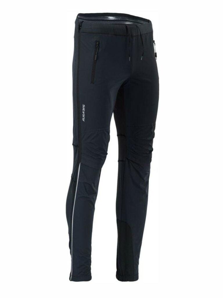 Męskie spodnie na narty biegowe nogawki rozpinane na całej długości Silvini Soracte Pro MP1748