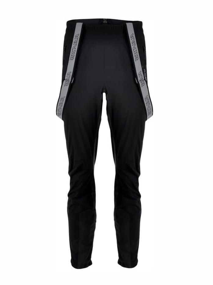Męskie spodnie na narty biegowe z zamkiem na całej długości nogawki Silvini Mazaro Pro