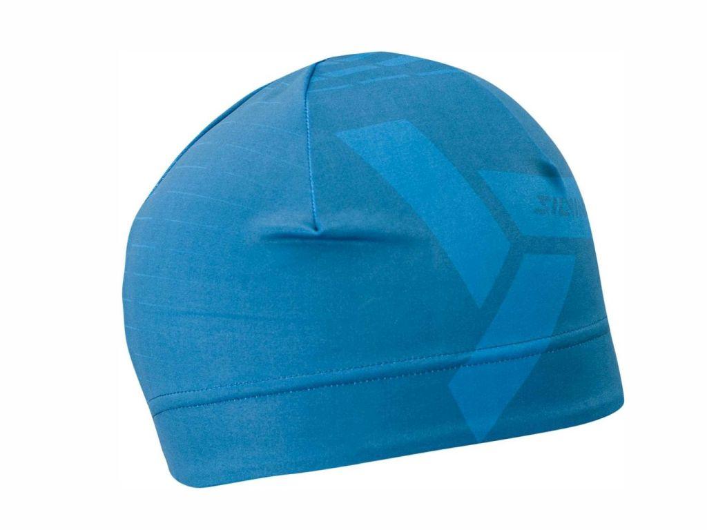 Sportowa czapka na biegówki, jogging Silvini Averau UA1520-3032 niebiesko-granatowa