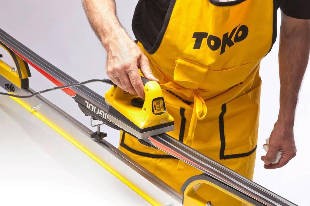 Jak smarowć narty biegowe smarem parafinowym