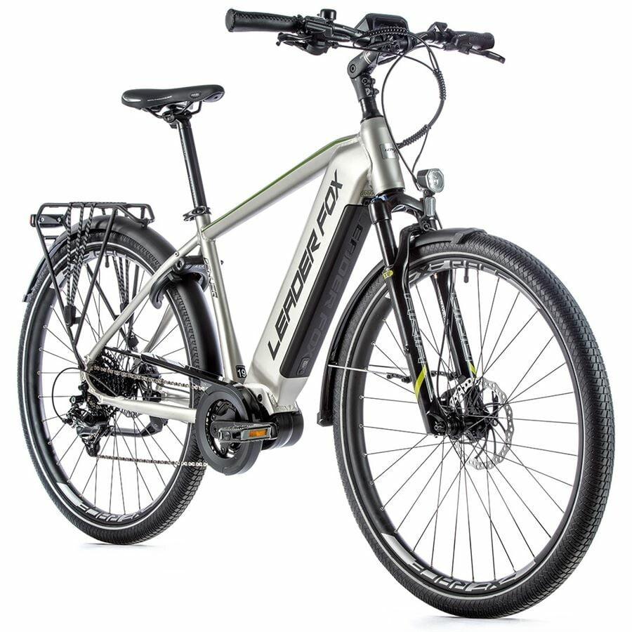 """Rower trekkingowy elektryczny Leader Fox DENVER 2021 koła 28 """", rama 20,5"""", bateria 15 Ah"""