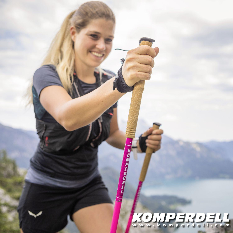 Kije do biegów gorskich Carbon C1 Team pink